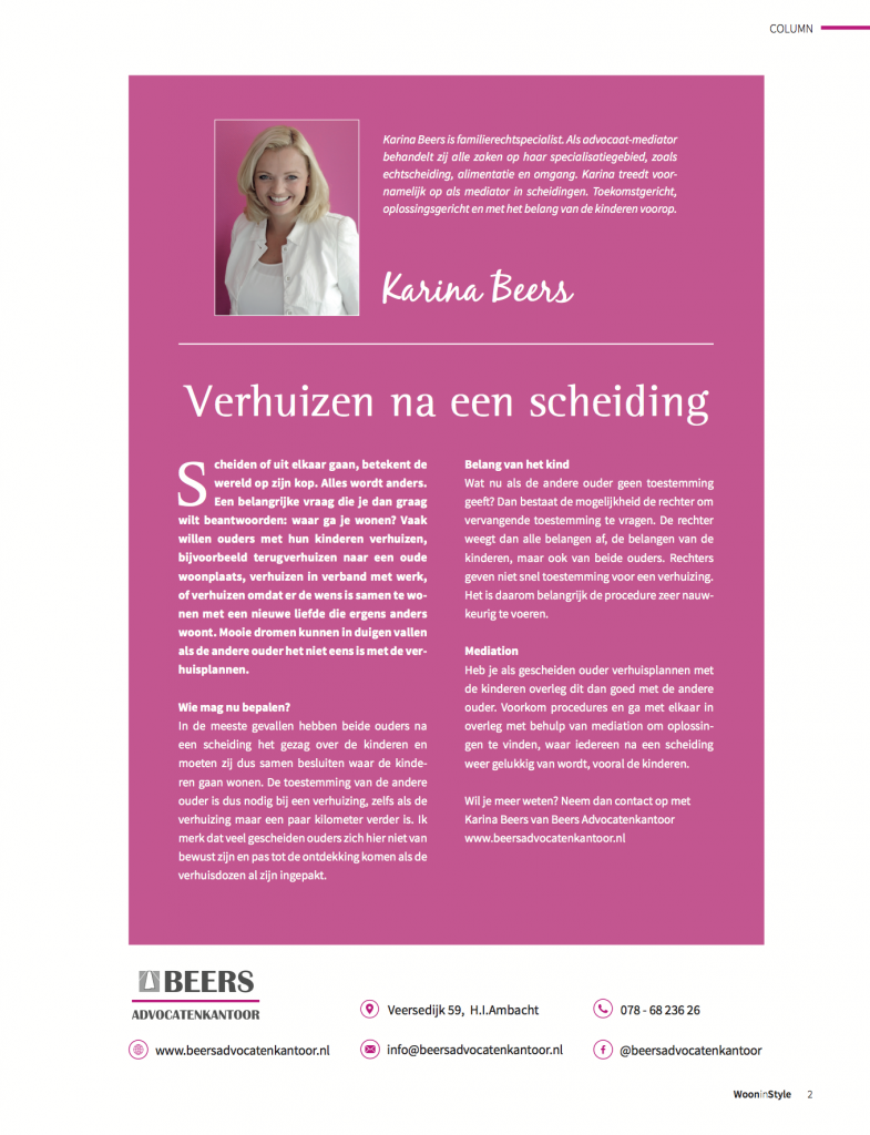 Beers-Advocatenkantoor-Verhuizen-na-een-Scheiding-Column-Woon-in-Style