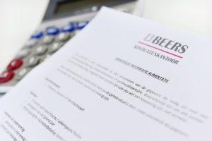 Beers Advocatenkantoor Wettelijke alimentatie indexering 2018
